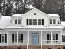 Hester Home in Winter