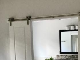 Barn Door in Master Bedroom